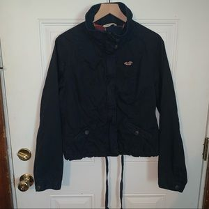 Kids Hollister Black Zipup Jacket L